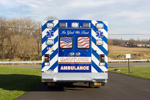 Braun Liberty Type I Ambulance - Ford F450 4x4 Chassis - Rear