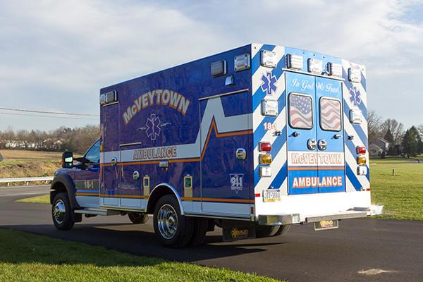 Braun Liberty Type I Ambulance - Ford F450 4x4 Chassis - Driver Rear