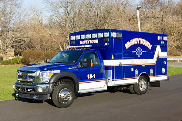 Braun Liberty Type I Ambulance - Ford F450 4x4 Chassis - Driver Front