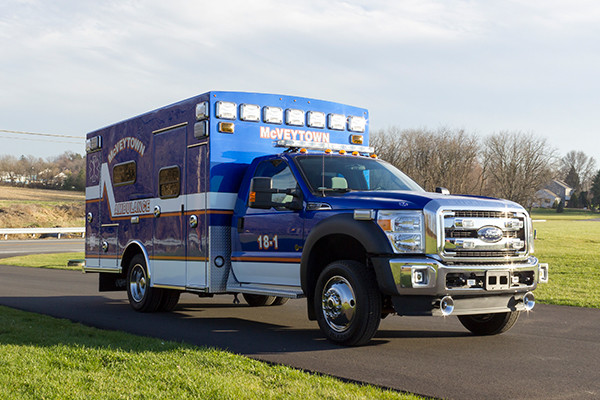 Braun Liberty Type I Ambulance - Ford F450 4x4 Chassis - Passenger Front