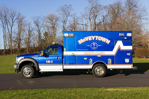 Braun Liberty Type I Ambulance - Ford F450 4x4 Chassis - Driver Side