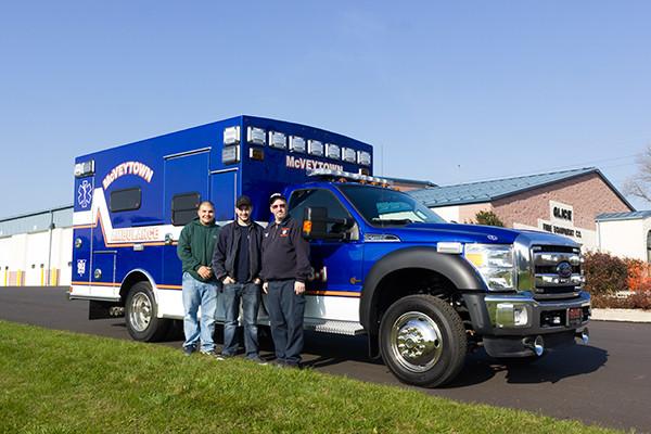 Braun Liberty Type I Ambulance - Ford F450 4x4 Chassis - Members of McVeytown