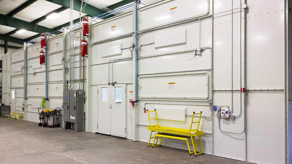 Glick Fire Equipment - Sikkens Paint Booth
