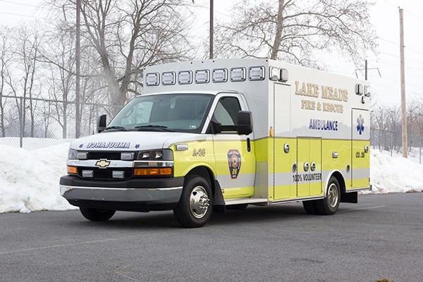 Lake Meade F&R - Braun Chief XL Type III Ambulance - Driver Front