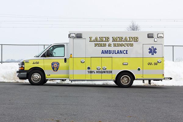 Lake Meade F&R - Braun Chief XL Type III Ambulance - Driver Side