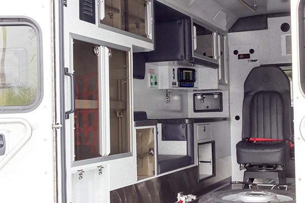 Lake Meade F&R - Braun Chief XL Type III Ambulance - Driver Interior