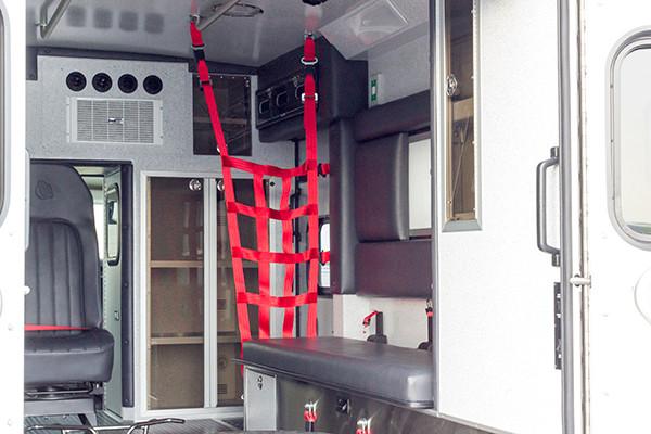Lake Meade F&R - Braun Chief XL Type III Ambulance - Passenger Interior