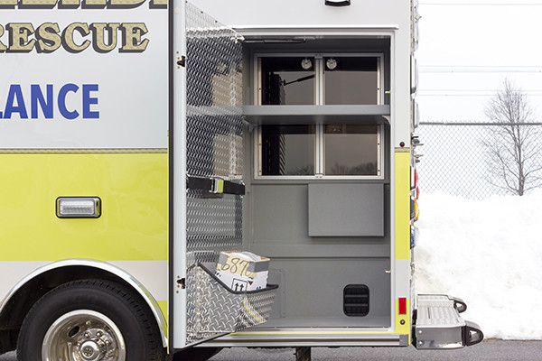 Lake Meade F&R - Braun Chief XL Type III Ambulance - Driver Side Compartment