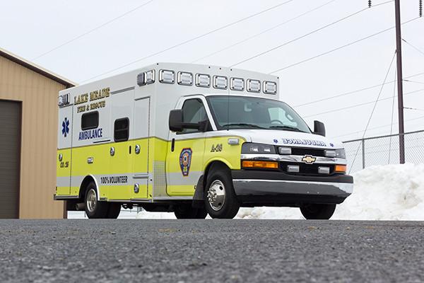 Lake Meade F&R - Braun Chief XL Type III Ambulance - Passenger Front