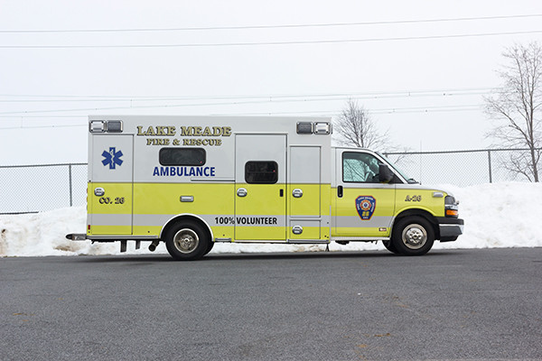 Lake Meade F&R - Braun Chief XL Type III Ambulance - Passenger Side