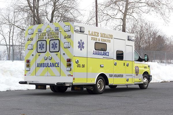 Lake Meade F&R - Braun Chief XL Type III Ambulance - Passenger Rear