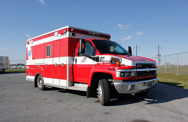 used medium duty ambulance for sale - 2006 Life Line - passenger front
