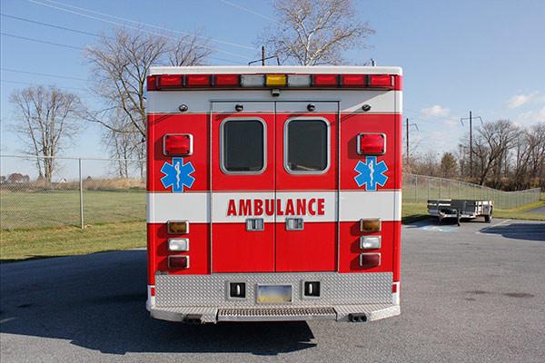 used 2006 Life Line medium duty ambulance for sale - rear