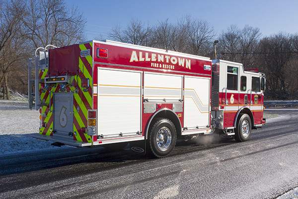 Allentown FD - Pierce Arrow XT PUC Pumper - Fire Engine - passenger rear