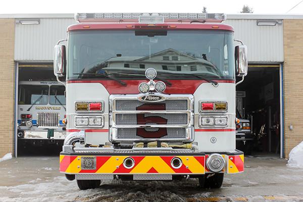 Marysville FC - Pierce Enforcer Tanker Pumper - Fire Engine - front