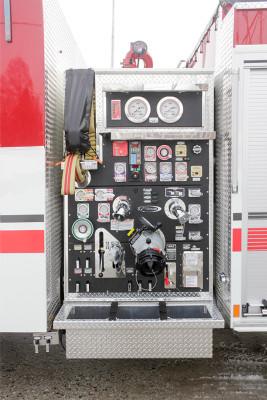 Marysville FC - Pierce Enforcer Tanker Pumper - Fire Engine - pump panel
