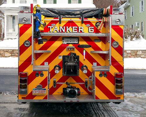 Marysville FC - Pierce Enforcer Tanker Pumper - Fire Engine - rear