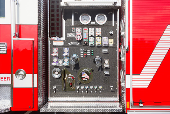 Swatara Twp - Pierce Arrow XT Pumper - Fire Engine - Pump Panel