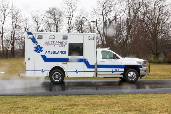 St. Marys Area - Demers MXP-150 Type I Ambulance - passenger side