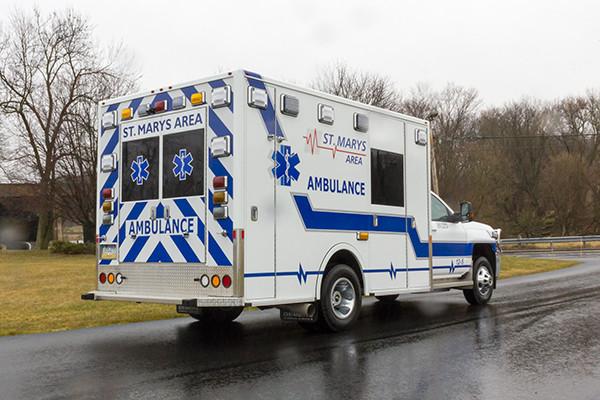 St. Marys Area - Demers MXP-150 Type I Ambulance - passenger rear