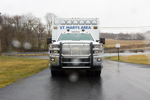 St. Marys Area - Demers MXP-150 Type I Ambulance - front