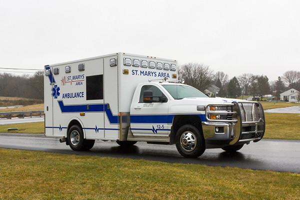 St. Marys Area - Demers MXP-150 Type I Ambulance - passenger front