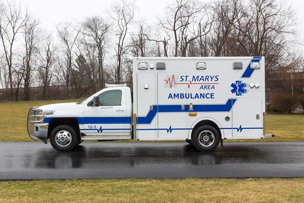 St. Marys Area - Demers MXP-150 Type I Ambulance - driver side