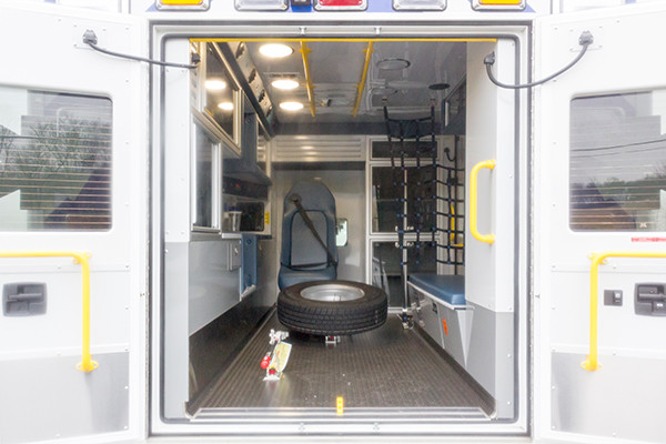 St. Marys Area - Demers MXP-150 Type I Ambulance - rear interior