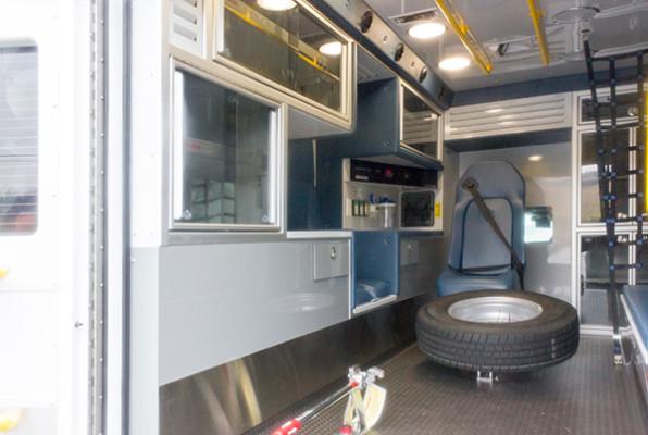 St. Marys Area - Demers MXP-150 Type I Ambulance - interior driver side