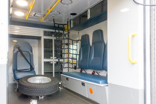 St. Marys Area - Demers MXP-150 Type I Ambulance - interior passenger side