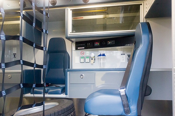 St. Marys Area - Demers MXP-150 Type I Ambulance - interior side