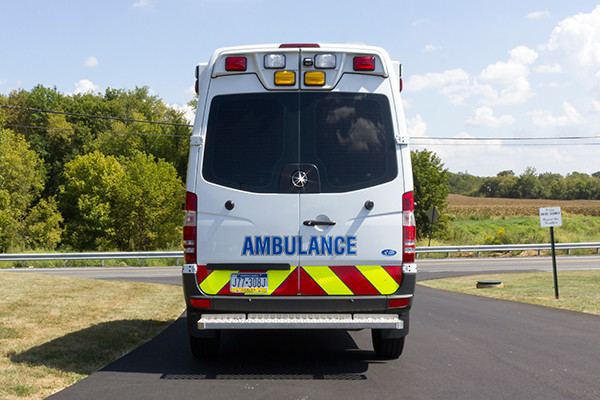 AMED - Demers Mirage EXE Type II Ambulance - Mercedes Sprinter - rear