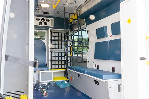 AMED - Demers Mirage EXE Type II Ambulance - Mercedes Sprinter - interior passenger side