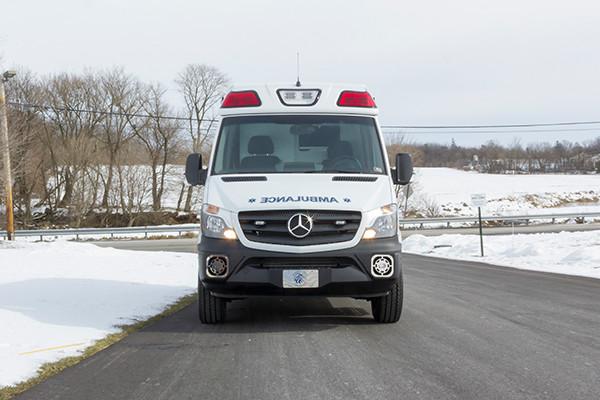 Hanover Twp - Demers EXE Type II Ambulance - front