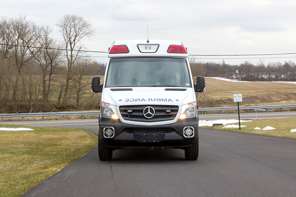 Schuylkill Valley EMS - Demers EXE Type II Ambulance - front