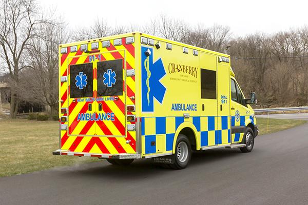 Cranberry Twp. EMS - Demers MX-152 Type III Ambulance - passenger rear
