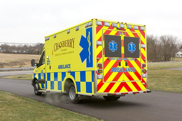 Cranberry Twp. EMS - Demers MX-152 Type III Ambulance - driver rear