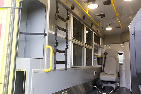 Cranberry Twp. EMS - Demers MX-152 Type III Ambulance - interior driver side