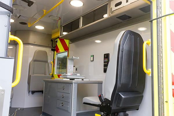 Cranberry Twp. EMS - Demers MX-152 Type III Ambulance - medic station