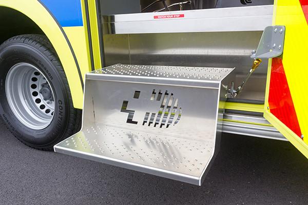 Cranberry Twp. EMS - Demers MX-152 Type III Ambulance - flip out steps