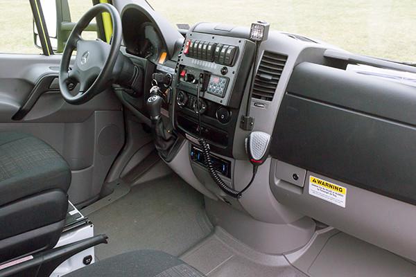 Cranberry Twp. EMS - Demers MX-152 Type III Ambulance - dash