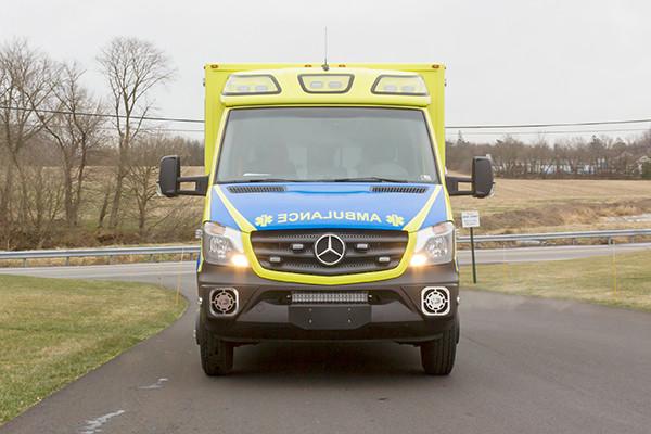 Cranberry Twp. EMS - Demers MX-152 Type III Ambulance - front