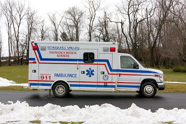 Schuylkill Valley EMS - Type III Ambulance Remount - passenger side
