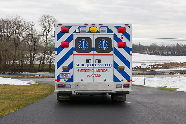 Schuylkill Valley EMS - Type III Ambulance Remount - rear