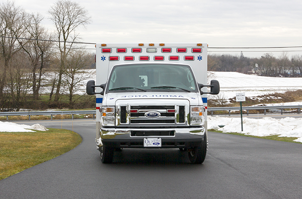 Schuylkill Valley EMS - Type III Ambulance Remount - front