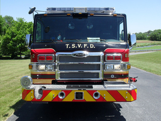 2011 Pierce Velocity Rescue Pumper - Fire Engine - front