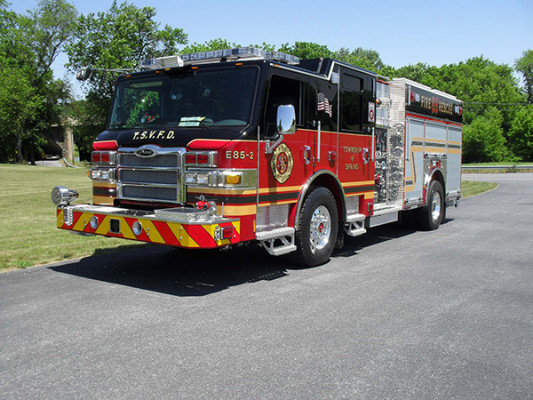 2011 Pierce Velocity Rescue Pumper - Fire Engine - driver front