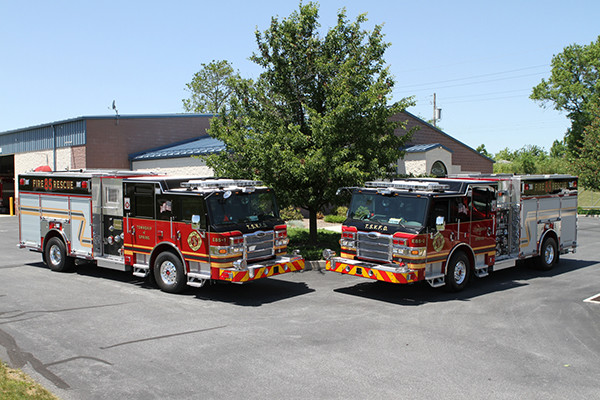 2011 Pierce Velocity Rescue Pumper - Fire Engine - Twin Rescue Engines