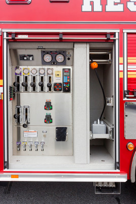 2015 Pierce Enforcer PUC pumper - fire engine - pump panel