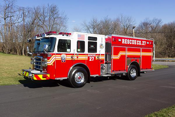 2015 Pierce Enforcer PUC pumper - fire engine - driver front